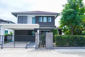 For RentHouseBangna, Lasalle, Bearing : Manthana Bangna Km.7 4 bedrooms for Rent ( PST-EVE266 )