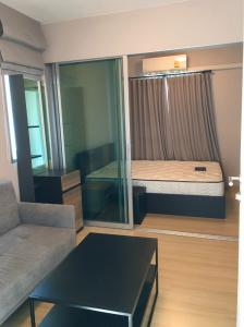 For RentCondoChengwatana, Muangthong : 6700.-/month for rent, ready to move in at Plum Condo Chaengwattana Station Phase 3