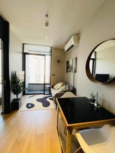 เช่าคอนโดสุขุมวิท อโศก ทองหล่อ : เช่า- The Fine Bangkok ทองหล่อ-เอกมัย/1 ห้องนอน / 35 ตร.ม. /ชั้น 22 ใกล้ BTS เอกมัย  เช่า 26,000