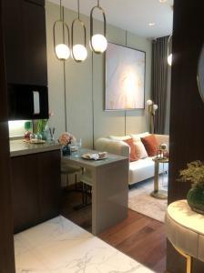 For SaleCondoSukhumvit, Asoke, Thonglor : 1 bedroom for sale, no block view, corner room, best price