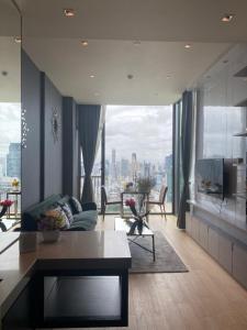 For RentCondoWitthayu,Ploenchit  ,Langsuan : Condo for rent 28 Chidlom Type 1 bedroom 1 bathroom Size 45 sq.m. Floor 33