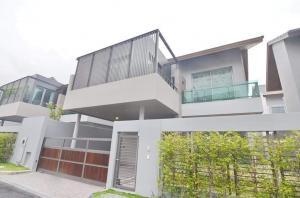 ขายบ้านเลียบทางด่วนรามอินทรา : ขายบ้านเดี่ยวโครงการ  Private Nirvana Residence North เลียบทางด่วน เอกมัย-รามอินทรา