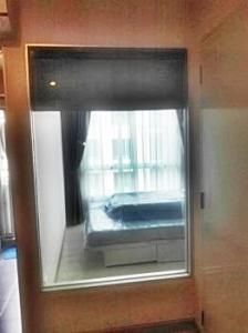 For RentCondoSamrong, Samut Prakan : Condo for rent, The Kith Plus Sukhumvit 113, pool view, washing machine