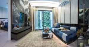 For SaleCondoRama9, RCA, Petchaburi : Quick sale ❗❗❗ Life Asoke Hype 1 bedroom 30 sq.m. price 3.77 million near MRT Rama 9.