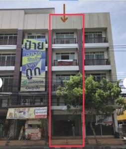 For RentShophouseRamkhamhaeng,Min Buri, Romklao : BH1012 4 storey commercial building for rent, 4 bedrooms, 4 bathrooms, next to Ramkhamhaeng Road.