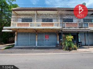 For SaleTownhouseSamut Songkhram : 2 storey townhouse for sale near Mae Klong Market, Samut Songkhram, good condition, ready to move in.