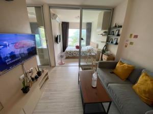 For RentCondoRattanathibet, Sanambinna : For rent, Aspire Rattanathibet, 2 beautiful rooms, cheap price, convenient transportation, ready to move in 🔥