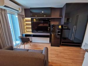 For RentCondoKasetsart, Ratchayothin : Condo for rent The Selected Kaset-Ngamwongwan💥built-in See it and like it, fully furnished, ready to move in, near Kasetsart University, near BTS Kasetsart UniversitySize 25 sq.m., 14th floor💰 Rental price: 12,500 baht / month