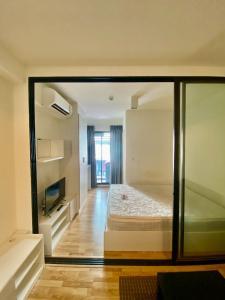 For RentCondoSamrong, Samut Prakan : Condo for rent, The Cabana, The Cabana, near BTS Samrong, beautiful room, ready to move in, cute price