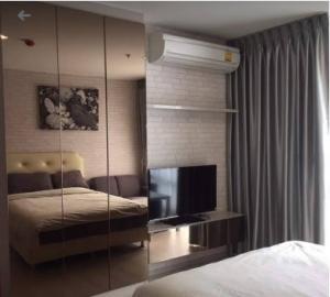 For RentCondoRama9, RCA, Petchaburi : ***Urgent rent, Rhythm Asoke 1 project, condominium, studio, 1 bathroom, size 23 sq.m., 20th floor, fully furnished, ready to move in. Rental price 12,000 baht/month, near MRT Rama 9