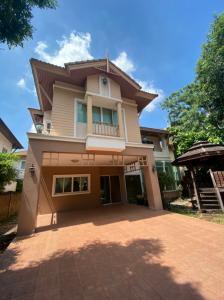 For SaleHouseKaset Nawamin,Ladplakao : Single house for sale, 75 sq m., Prinyada Kaset-Nawamin, garden view.