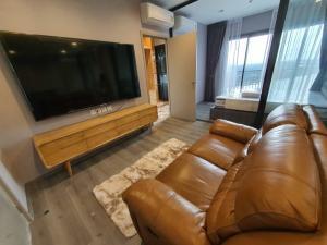 For RentCondoRattanathibet, Sanambinna : Condo for rent politan aqua, 34th floor, 2 bedrooms ( combine) 62 sq.m., good furniture, river view