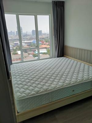 เช่าคอนโดบางซื่อ วงศ์สว่าง เตาปูน : ทีวี 55 นิ้ว แอร์ 2 ตัว เตียง 6 ฟุต