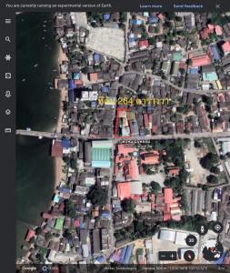 For SaleLandPattaya, Bangsaen, Chonburi : Beautiful land for sale with 3 residential buildings near Ao Udom Pier.