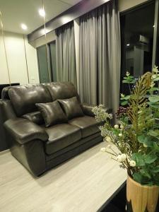 เช่าคอนโดบางนา แบริ่ง : ห้องแต่งสวยมาก Ideo Mobi Eastgate ชั้นสูง ให้เช่า 1 ห้องนอน วิวไม่บล็อก