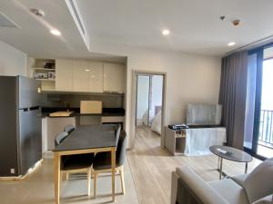 For RentCondoSukhumvit, Asoke, Thonglor : Urgent for rent, Oka House Condo, 2 bedrooms, 2 bathrooms, 1 living room, with balcony, good location, next to Rama 4 road, new room, very good central