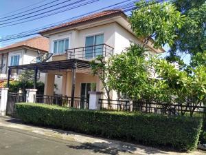 For SaleHousePattaya, Bangsaen, Chonburi : A Single House (2 fl.) for Sale or Rent, Tada Park Bowin Sriracha Chonburi