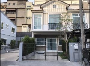 For RentTownhouseBangna, Lasalle, Bearing : 🎉Townhome for rent in the corner of Indy Bangna-Ramkhamhaeng 2, new house with furniture behind the corner 🎉