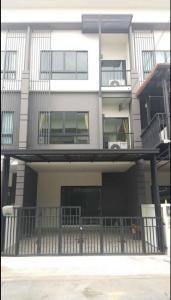 For RentTownhouseRangsit, Patumtani : 🎉For rent 3-storey townhome, Casa City Village, Ring Road, Lam Luk Ka, Khlong 5 🎉