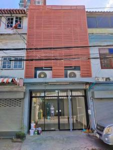 For SaleShophouseBangna, Lasalle, Bearing : 3-storey commercial building for sale in Bangna area, near BTS Bang Na 200 meters, opposite BITEC Bangna building suitable for trading