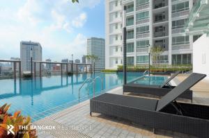 For SaleCondoRama9, RCA, Petchaburi : Shock Price! Large Room Condo for Sale NEar MRT Phra Ram 9 - T.C. Green Rama 9 @3.29MB All in
