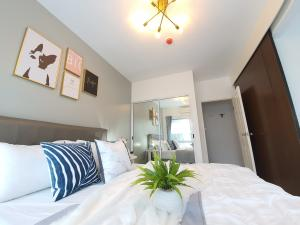 For SaleCondoOnnut, Udomsuk : 《Special price》Aspace Sukhumvit 77 condo, fully furnished, ready to move in