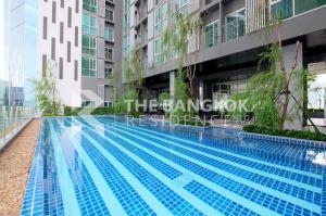 For SaleCondoRatchadapisek, Huaikwang, Suttisan : Shock Price!! 20+ High Floor Condo for Sale Near MRT Thailand Cultural Centre - Noble Revolve Ratchada @4.2 MB