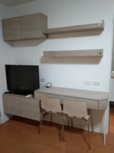 For RentCondoSamrong, Samut Prakan : Condo for rent, Lumpini Mixx Thepharak-Srinakarin, beautiful room, only 5,000 baht.