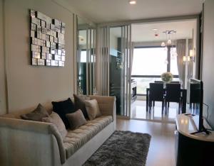 For RentCondoOnnut, Udomsuk : Condo for rent Rhythm 44/1 Type 1 bedroom 1 bathroom Size 45 sq.m. Floor 15