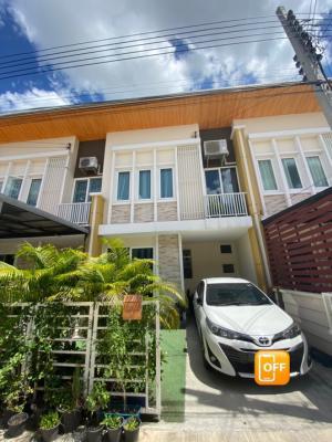 For SaleTownhouseLadkrabang, Suwannaphum Airport : Townhome for sale Golden Town 2 On Nut - Lat Krabang.