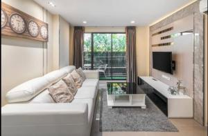 For SaleCondoSukhumvit, Asoke, Thonglor : LC-S313 Condo for sale at a loss, Mirage 27, near BTS Asoke 400 meters! Room 50 sq.m., selling only 6.59 million, 2nd floor, room 6/12, pool view, south