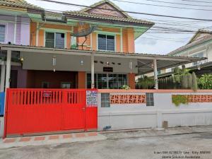 For SaleTownhouseSamrong, Samut Prakan : House for sale with good location. Pruksa Village 15 Soi 15/9 Bang Phli