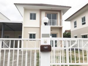 For RentHouseBangna, Lasalle, Bearing : House for Rent Lalin Green Ville On nut Suvarnabhumi, 3-bedroom near MEGA Bangna