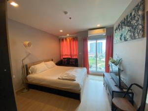 For RentCondoBangbuathong, Sainoi : W0130 #Casa Condo BangYai for rent, size 28 sq.m., 16th floor, 1 bedroom, 1 bathroom, rent 6,500 baht / month (including common fee), minimum 1 year contract, 1 month advance payment, 2 months insurance (Ready to move in)