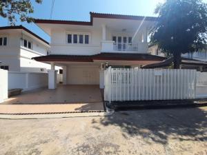 For RentHouseRamkhamhaeng,Min Buri, Romklao : House for rent, Royal Park Ville Village, Suwinthawong 44, Nong Chok, Bangkok, price 15,0000