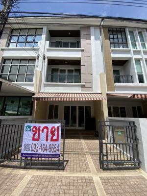 For SaleTownhouseYothinpattana,CDC : Townhouse for sale Baan Klang Muang Rama 9 - Ladprao 3 bedrooms in Wang Thonglang, Wang Thonglang near MRT Chokchai 4.