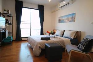 For RentCondoRatchadapisek, Huaikwang, Suttisan : Urgent Rent ++ Amanta Ratchada ++MRT WALKING DISTANCE ++ High Floor ++ Good Decor ++ Special Price @28000 🔥🔥