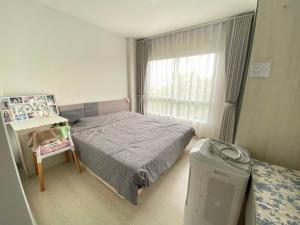 For RentCondoBang kae, Phetkasem : Condo Niche ID Bang Khae, room size 28 sq.m., 4th floor, spacious, comfortable view behind the room. well ventilated