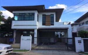 For RentHouseNawamin, Ramindra : house for rent at Saransiri Phaholyothin-Sai Mai Village. AOL-F81-2106004076