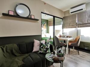 For RentCondoSamrong, Samut Prakan : Condo for rent Kensington Sukhumvit - Theparak fully furnished (Confirm again when visit).