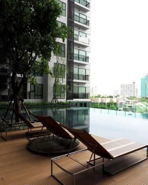 For RentCondoSukhumvit, Asoke, Thonglor : Urgent Rent ++ Rhythm Sukhumvit ++ High Floor ++ Unblock View ++ Good Decor ++ BTS Thonglor ++ Reduced Rent from 27000 to 19000 Only 🔥🔥