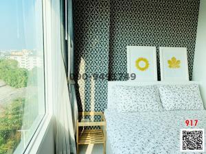 For RentCondoSamrong, Samut Prakan : Rent Condo Aspire Erawan, new room, never been in, next to BTS Erawan