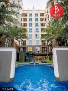 For SaleCondoOnnut, Udomsuk : Condominium for sale, Condo The Light New York Sukhumvit 64.