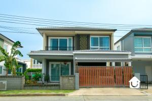 For SaleHouseBangna, Lasalle, Bearing : Single house, Golden Neo Bangna-Kingkaew, beautiful house, fully furnished, 4 bedrooms, size 41.4 sq. wa, price 5.8 million baht