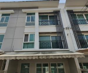 เช่าทาวน์เฮ้าส์/ทาวน์โฮมพัฒนาการ ศรีนครินทร์ : For Rent ให้เช่าทาวน์โฮม 3 ชั้น หมู้บ้านกลางเมือง พระราม 9 มอเตอร์เวย์ (เลียบมอเตอร์เวย์ กม.1 ถนนกรุงเทพกรีฑา) บ้านตกแต่งสวยมาก Built-In แอร์ 3 เครื่อง อยู่อาศัย เลี้ยงสัตว์ได้ หรือ Home Office