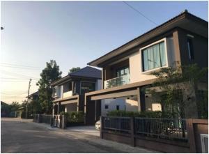 เช่าบ้านลาดกระบัง สุวรรณภูมิ : ให้เช่าบ้านเดี่ยว หมู่บ้านเอช เคป ซีรีน บางนา-สุขาภิบาล 2 บ้านสวย เฟอร์นิเจอร์ครบ