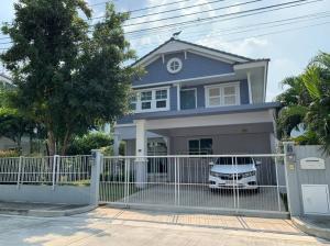 For SaleHousePattanakan, Srinakarin : Single house for sale!!️ (H1198), the largest type, Land & House project, Chaiyapruek Srinakarin, Soi Sapboonchai 28