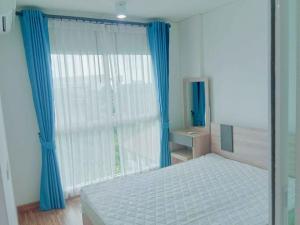 For RentCondoBangbuathong, Sainoi : Condo for rent Iris Westgate, large room, corner room, meet washing machine in the room