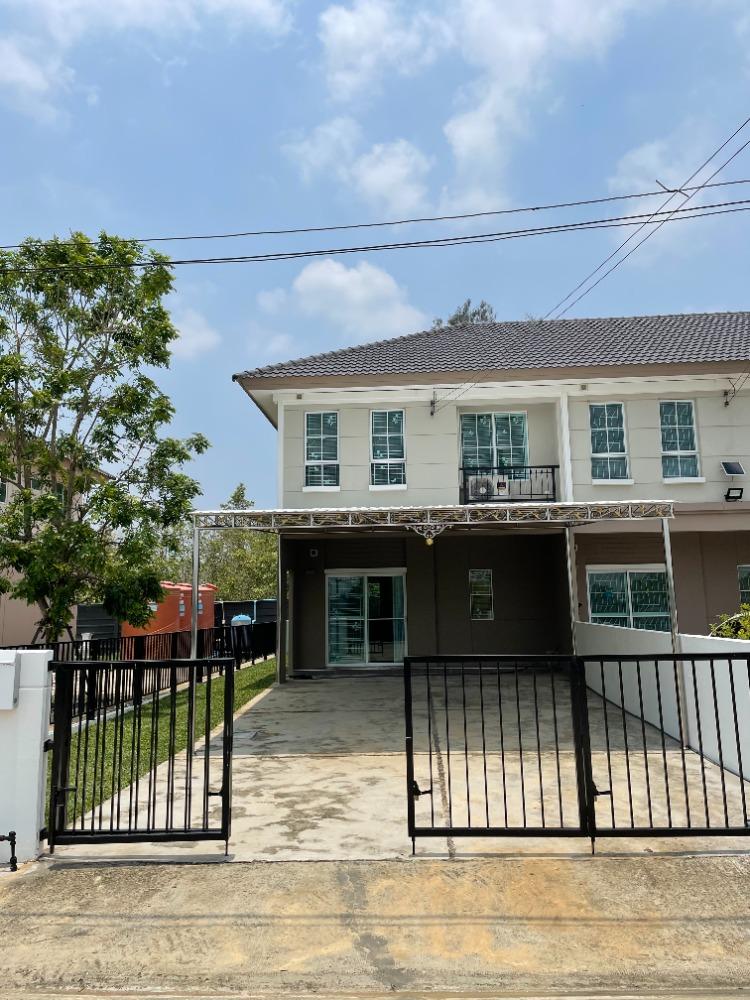 For RentTownhouseRangsit, Patumtani : Town home for rent, Pruksa Village, Rangsit Ring Road 131