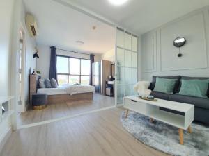 For SaleCondoLadprao 48, Chokchai 4, Ladprao 71 : Selling cheap, beautiful room, new, B.U. Chokchai